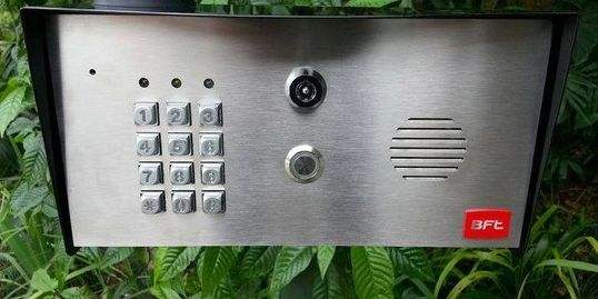 wireless keypad, gate opener motor, bft keypad, keypad installation, miami gate opener repair