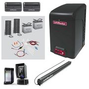 LiftMaster CSL24UL Commercial Slide Gate Operator with 40W33A Solar Kit Photocell Model LMRRUL