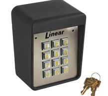 Model AK-11 Exterior Digital Keypad is a digital keyless entry system designed for access control