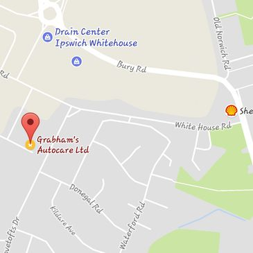 Grabham's Autocare Ltd Map