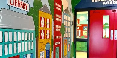 SABRINAS MURALS DAYCARES AND SCHOOL MURALS