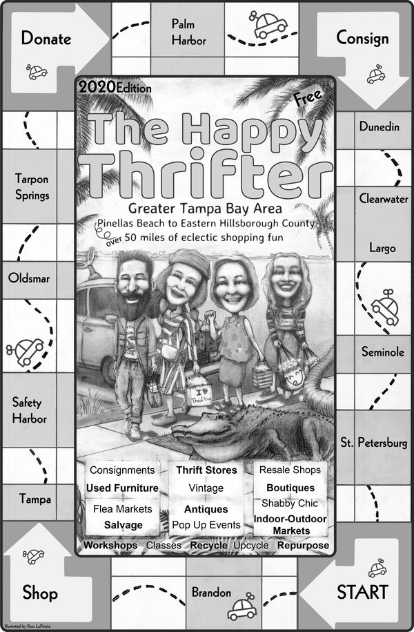 The Happy Thrifter family of newspapers