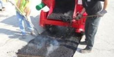 Falcon ARE, falcon rme, spaulding mfg, asphalt hot box, asphalt heater