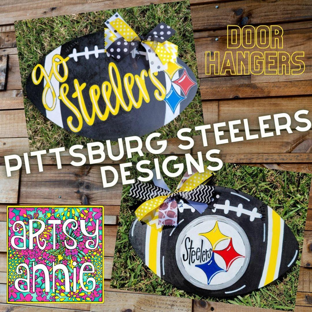 étonnant  Mot-Clé Home Décor Home & Living Steelers door hanger Pittsburgh Steelers ...