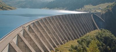 Climate and Water Resources Large Dam