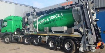 DE BUF mixer trailers upto 17m cubed, complete with engine or driven by tractor PTO.