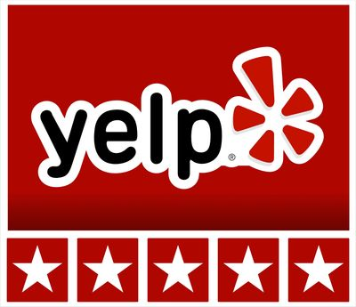 YELP positive plumber reviews 5 Star.