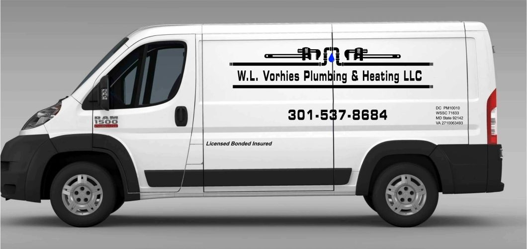 Vorhies Plumbing and Heating. Plumbing Truck
