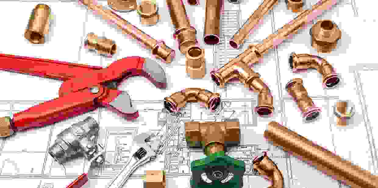 Plumbing in Maryland, DC and Virginia Plumbing for new construction.  Hot water heaters