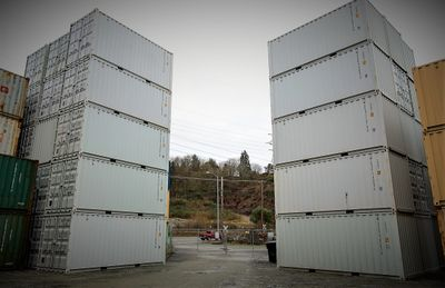 shipping container, storage container, rental container, cargo container, mobile container
