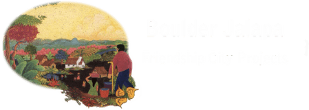 Friendship City Projects,  Boulder Jalapa