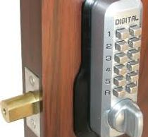 digital mechanical keypad lock