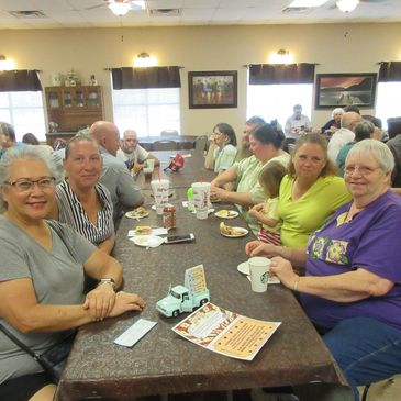 Our Silver Sage Senior Center's clients and volunteers, Bandera Texas.