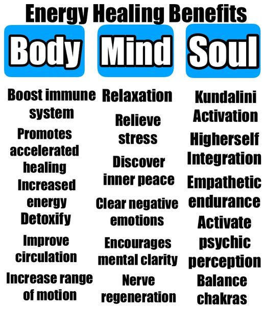 energy healing benefits