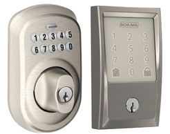 Lockstar sells Schlage residential electronic and smart locks such as the Encode.