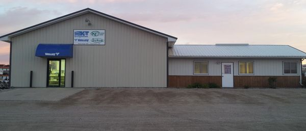K&T Irrigation West Fargo location, blue awning