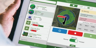 Agsense communication software for Valley machines.