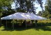 20' x 40' Frame Tent set up, pic 1