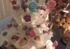 4 Level Cake Pop Stand with Lollipops, Cake Pops, and Chocolate Covered Strawberries