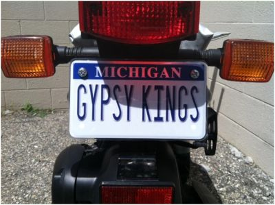 Motorcycle License Plates Minipl8s