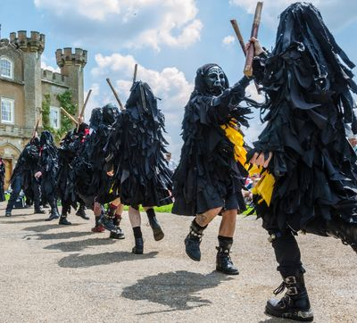 Mythago border morris dancers
