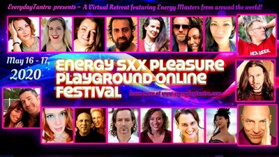 So honored and excited to be teaching this weekend as part of the Energy Sxx Pleasure Playground Onl