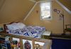 Other bed in the upstairs loft area,