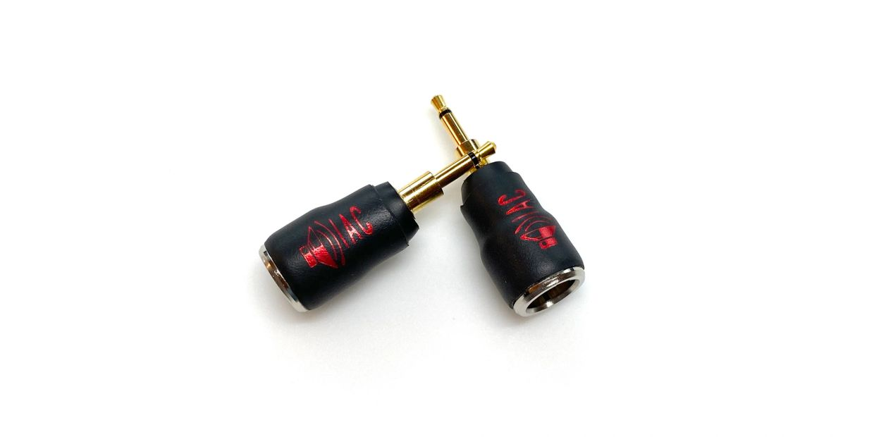 Handmade headphone adapters. Direct soldered for the most efficient signal path.