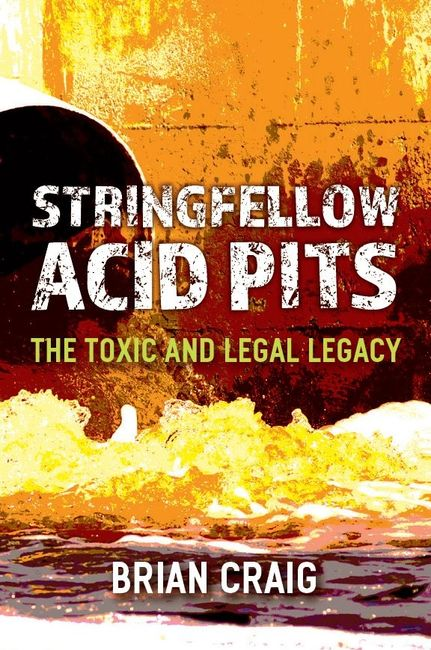 Book Cover for Stringfellow Acid Pits: The Toxic and Legal Legacy by Brian Craig