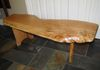 Live Edge Red Oak Coffee Table.....  $475.....  SOLD