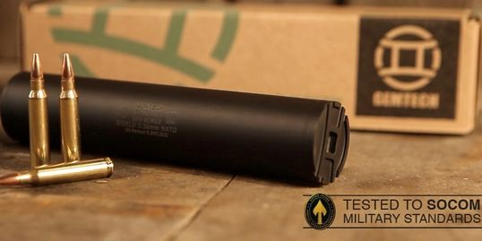 Gemtech Shield 5.56 silencer