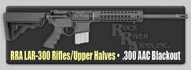 RRA 300 Blackout upper