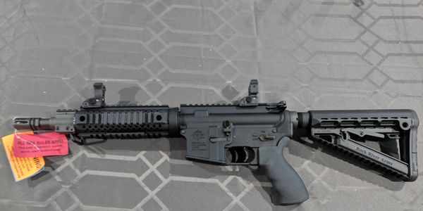 RRA / Piece of Mind Firearms SBR rifle