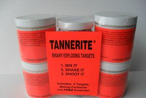 Tannerite binary exploding targets