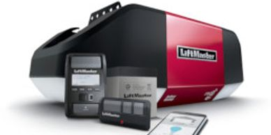 Residential garage door opener systems and accessories.