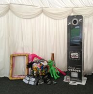 Selfie Pod Looking great in a Marquee set up and ready to go!