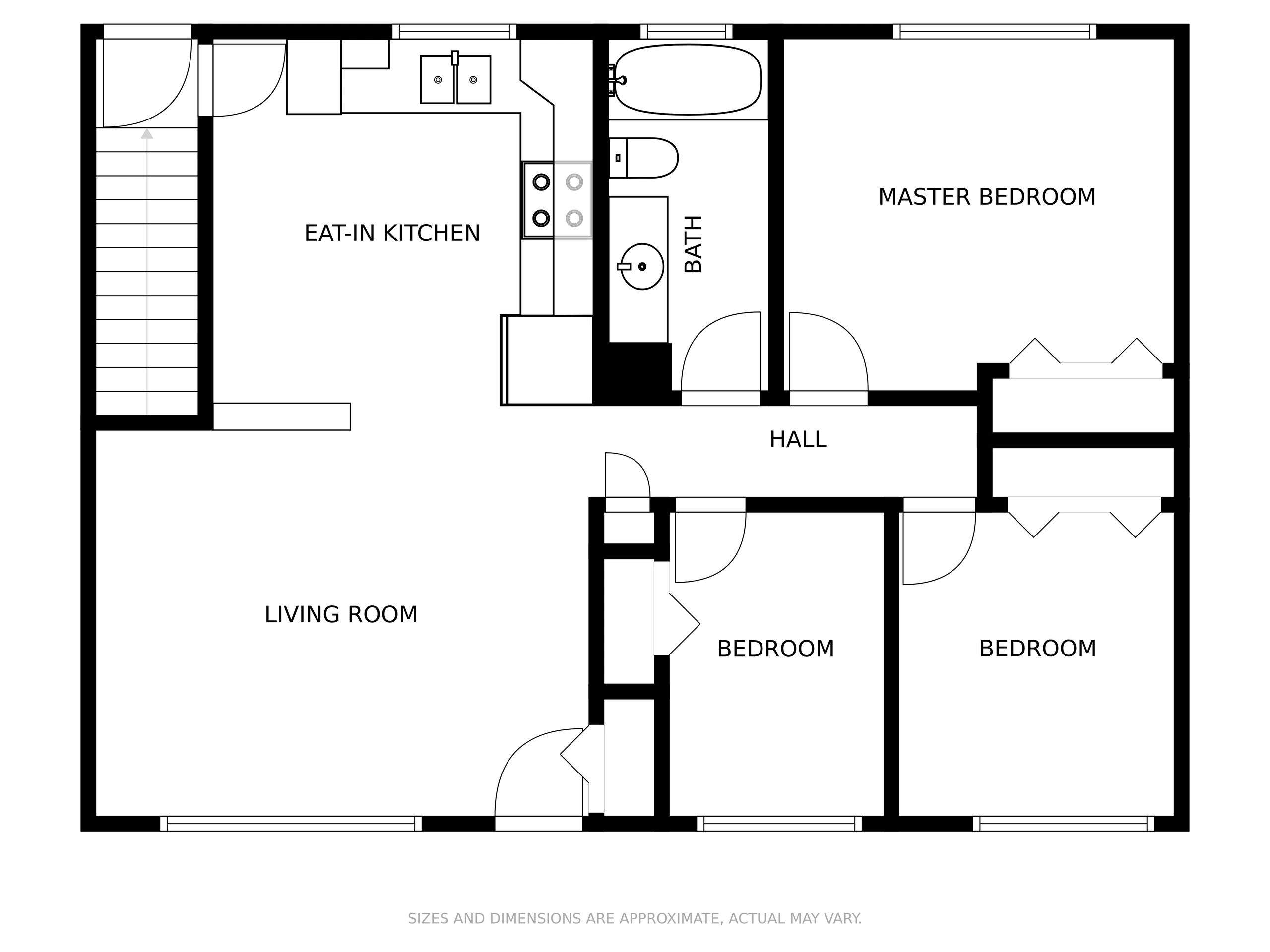Floor Plans available branded/unbranded or no measurements/measurements. Customization available