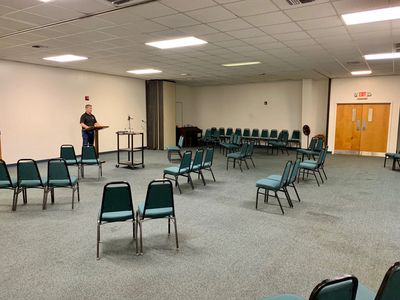 Worship Set Up for  Wednesdays at 6 PM