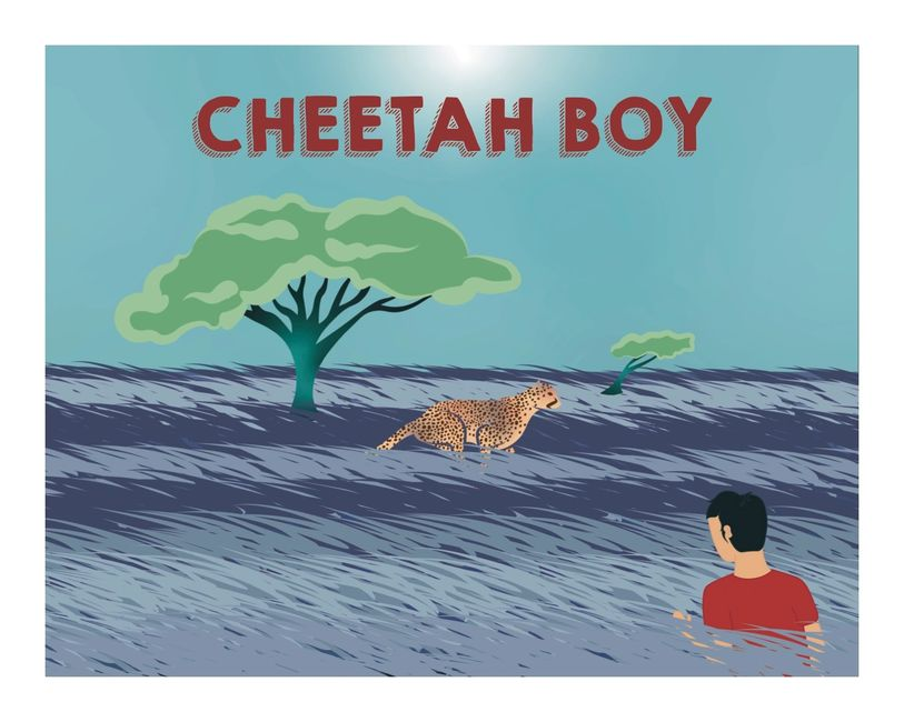 A children's book about a young boy named Track with NF and his journey to self-acceptance.