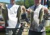 Lake Hopatcong Open Buddy 7/23/16  Chris W. & Scott W. weighed in 5 fish for 9.79lbs. They did manage to take lunker of the day with a 3.86lb largie.