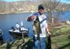 4/25/13 Candlewood Lake  Congrats to John Holda who set a new club record by weighing in a largie at 7.46lbs!!!! What a PIG of a bass.