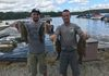 9/15/18 Greenwood Lake Open Buddy Tom B. & John D. took 3rd today with 5 fish for 9.88lbs