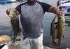 Greenwood Lake Open Buddy 9/10/16  Manny C. who fished solo came in 2nd today. He weighed in 5 fish for 13.64lbs
