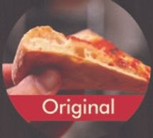 1/4 INCH TRADITIONAL HAND TOSSED CRUST