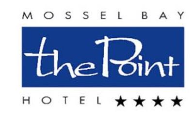 The logo Of Hotel names The Point Hotel with 4 Stars from Mossel Bay