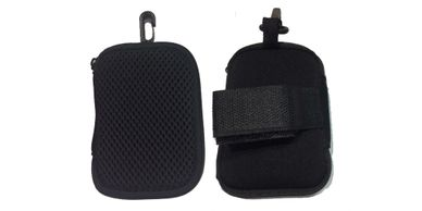 Picture of black neoprene pouch for LWAD (Lone worker Alert Devices)