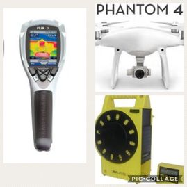 Home Inspection Thermal Imaging Pasadena Drone Roof Inspection Deer Park Measure Foundation Slab