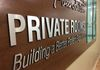 donor recognition wall-dimensional letters- aluminum lettering