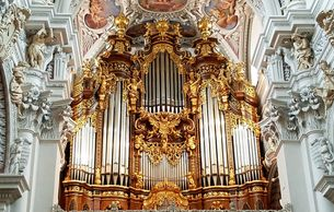St. Stephen's Cathedral in Passau - Bavaria, Germany