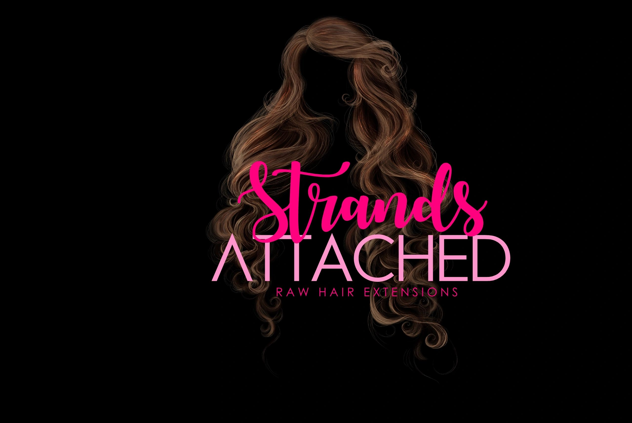 Strands attached a raw hair collection.
